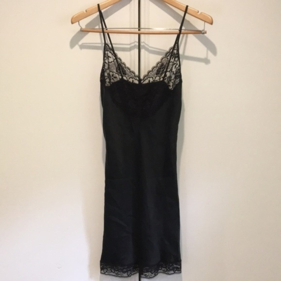 Vintage Black Silk Dresses